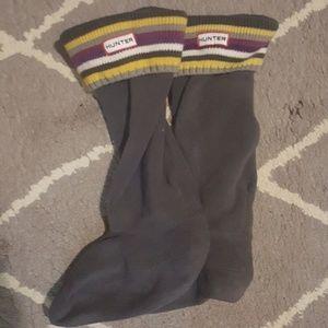 Hunter Accessories - Hunter Fleece Socks, Medium